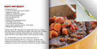Recipe photo book example