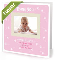 Thank You Baby Cards Pic 1