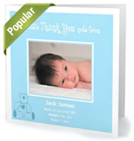 Thank You Baby Cards Pic 2