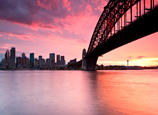 NSW_Sydney-Icons-under-a-pink-sky