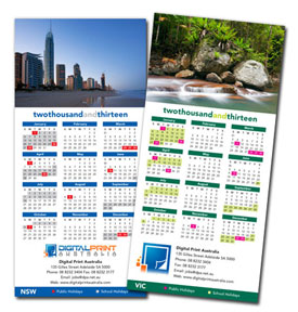 Fridge Calendar Printing - High Quality - Volume Discount ...