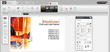 Postcard Printing software